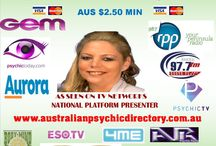 Psychic Agency Australia / Nationally a psychic/Medium service that provides different opportunities for psychics and mediums phone lines events offices marketing and Australian Directory Event Management