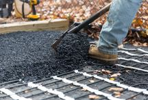 Outdoor Heating Solutions / Snow Melt products to keep your driveways , gutters and steps ice and frost-free.