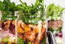 salatki w słoiku