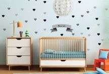 Baby Shower Gifts / Want to surprise your friend with something useful, cute and different? Look no further. StickerKid has the cutest wall decors, posters and baby labels that will keep everything personalized and organized for the newest member of the family!