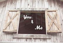 rustic / tema matrimonio
