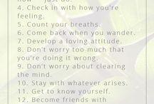 Meditation begginer