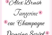 Font-tastic! / by Barb Smith