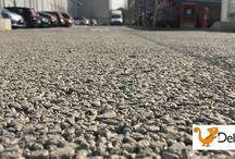 Le realizzazioni #Deltapav | #DRAIN, il calcestruzzo #drenante, Milano / Realizzazione di ben  8000 mq di #pavimentazione in #Deltapav #DRAIN, il calcestruzzo #drenante, a Milano