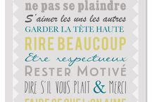 affiche et citations