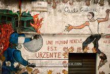 Street Art / Arte di strada - In Italia e nel Mondo.