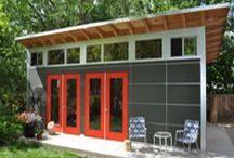Garden shed and studio