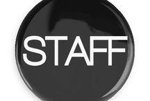 Restaurant Bar Buttons / Funny Buttons - Custom Buttons - Promotional Badges - Restaurant Bar Pins - Wacky Buttons