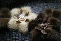 fur flowers