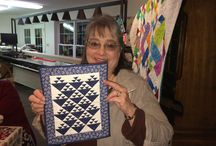 Club Meeting Show and Tell / Show and Tell at Sager Creek Quilts 30's Club and Stashbusters