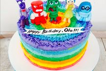 Inside out cake ideas