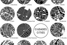 NOLLI / planos nolli de diferentes ciudades
