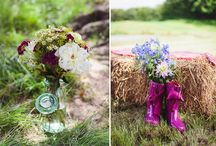 Bale Inspiration - Weddings / We have put this board together to help give you some inspiration about what you could do with bales at your wedding. / by PartyBales®