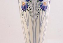 RG Plateel / Art nouveau ceramic