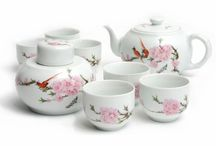 Tea Sets / EnjoyingTea.com offers a wide variety of tea sets from around the world. From our tea set selections you will see competitive prices and superior quality. Aside from brewing your favorite tea, our tea sets also look great on your shelf or desk. They are great gifts for friends and families.