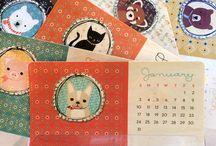 Kalendarze, desktopy