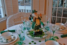 St. Patrick's Day Decor / A variety of ideas - decor, decorations, crafts, miscellaneous sayings and tablescapes - to use for St. Patrick's Day. I have another board for St. Patrick's Day [Irish] recipes. / by Dianne Kelley