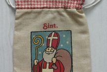 De zak van Sinterklaas / Sinterklaas cadeauzakken cadeautas gepind en uit mijn verzameling.