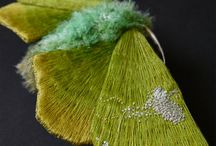 Yumi Okita. Textile Butterflies