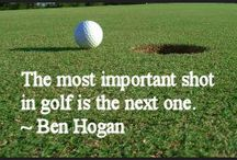 Quotes we love / The best quotes about golf!