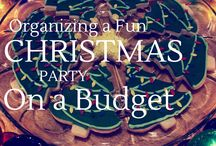 Frugal Christmas Party Ideas / Holiday hostess ideas on a budget!