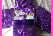 wedding pamper hamper and favours / wedding gifts