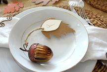 Sustainable Thanksgiving / Sustainability Tips for Thanksgiving and Thanksgiving crafts made from upcycled and recycled materials like reusing cardboard boxes.