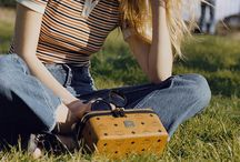 MCM Rockstar Vanity Case / Loved by the festival style-set, the Rockstar Vanity Case is our new must-have, all-purpose accessory.  For Coachella, Glastonbury and beyond.