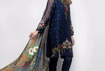 Rosemeen Luxury / Pakistani Style Occasional Wear Designer Dress Materials