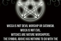 "Wicca / I am Wiccan. I do not believe in the christian creation called, ""the devil"" and I do not worship it. I am a Pagan who believes that Nature and the Planet deserve to be respected and cared for. Wiccan NOT satanic. Thank you."