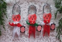 Christmas Themed Items by Three Cats Graphics / A collection of Christmas themed products by Three Cats Graphics.