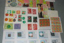 GCSE Art Textiles projects