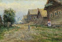 Alexandra Makovskaya - Art / Alexandra Yegorovna Makovskaya(Russian:Александра Егоровна Маковская; 1837,Moscow– 1915, Moscow) was a Russian landscape painter.