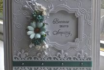 shabby chic cards / vintage cards