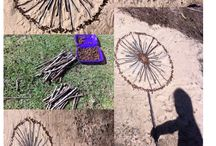 Andy Goldsworthy inspired