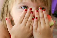 Kids Are The Cutest / Manis for minis, and other adorable things for children.