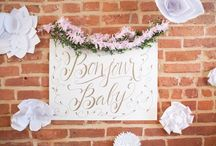 Le Bebe Shower / Welcome your new baby with a sweet vintage french inspired shower!