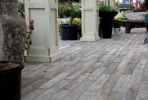 Reading Rock Aged Oak Wood Plank Pavers