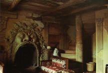 Fireplaces / by Jonni Huntley Spaulding
