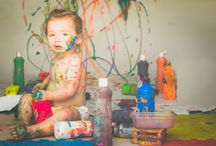 2 Year Paint Smash Photography - Victoria Sturdy / Let the Kids go wild in the new Paint Smash. This session is suitable for kids over 2 years and adults. Its bright, colourful, messy and fun and best of all, it give you unique pictures of your little ones right at home in their element of joy...and no cleaning up afterwards!. All the paints are non toxic and easily washable. 1-2 hour Session at the studio or your home