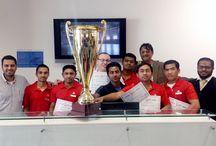 BIG SALE HERO TEAM / Winners for the competition BIG SALE HERO TEAM organized by Sports Corner Qatar