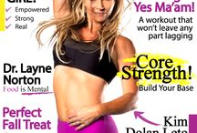Covers!  / Our covers- 24 per year!  / by GORGO Women's Fitness Mag
