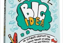 ImageThink's Draw Your Big Idea / Our new book coming out May 10, 2016. The ultimate creativity tool for turning thoughts into action! Graphic recording, graphic facilitation, infographics, visual storytelling, mind maps, sketchnotes, and illustrations. Pre order today on amazon!