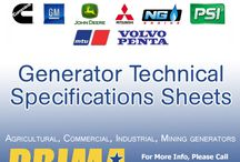Generator Technical Specifications Sheets