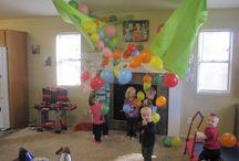 Toby's birthday party