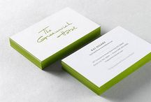 Business Cards / Business Card Inspiration