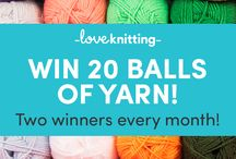 Yarn Competitions / Find all our exciting Yarn Competitions right here!