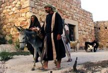 Spacer gdzie Jezus wszedł w Nazarecie.
