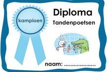 Diploma's voor kinderen / Diploma's voor kinderen, allerlei thema's