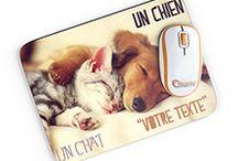 Tapis de souris personnalisable / Nous pouvons personnaliser vos tapis de souris avec vos favorites photos.